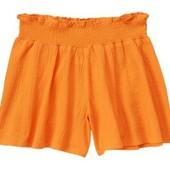 Шорты жатые оранжевые