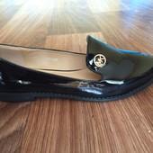 Балетки туфли лаковые Michael kors