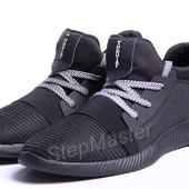 Кроссовки Adidas Tubular Black сетка