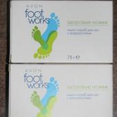Мыло-скраб для ног Avon с водорослями, 75г Лот 1шт