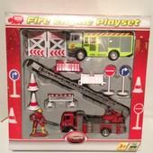 """Игровой набор """"Пожарная служба"""" с фигуркой и аксессуарами"""