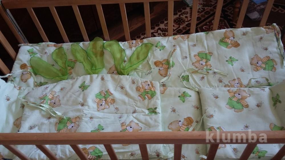 Защита в детскую кроватку+ подарок фото №1