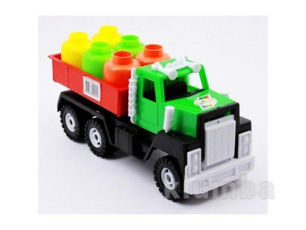 Машинка грузовик камаз с  грузом орион,арт.153 фото №1