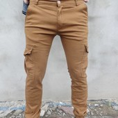 Штаны Карго (Турция) разные цвета размеры 29-36