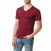 Мужские футболки с V-образным вырезом Вискоза