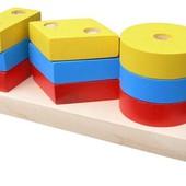 Пирамидка «Гео мини 2», Komarovtoys Артикул: А 310