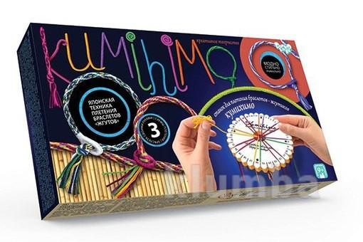 Наборы для плетения браслетов-жгутов кумихимо (kumihimo) фото №1