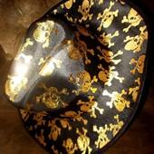 Шляпа-ковбойка маскарадная для пирата или на Хэллоуин