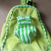 Новый мягкий рюкзачек