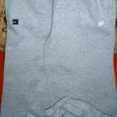 Air Брюки хлопковые с начесом (нашивка Nike ) XL б/у