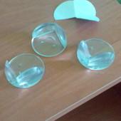 Продам силиконовые защитные накладки на углы мебели
