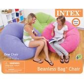 Надувное кресло Intex Beanless Bag Chair 68569
