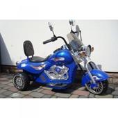 Акция! Электромотоцикл lдетский Alexis-Babymix hal-500 blue
