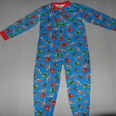 Пижама-слип,человечек котоновый,Power Rangers,7-8лет,р.128.