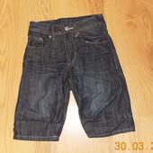 Акция!Стильные джинсовые шорты H&M для мальчика 3-4 года, 98-104 см