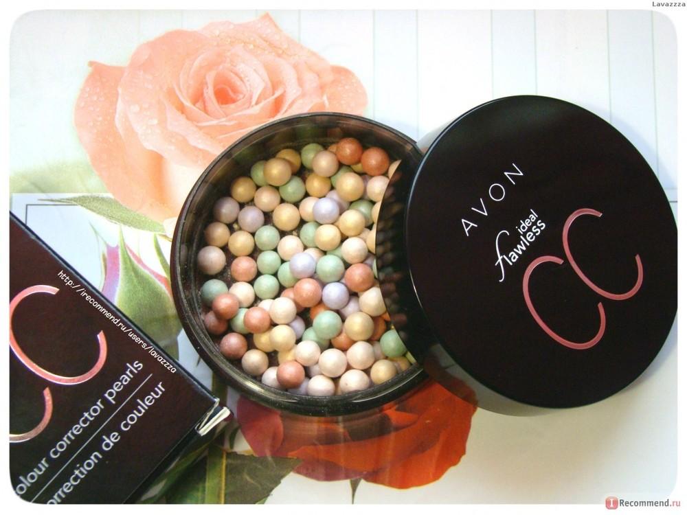 Avon пудра-шарики с корректирующим эффектом купить дешево косметику красноярск