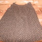 красивая длинная юбка плиссеровка р 48 52 новое состояние