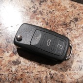 Ключ викидний для авто новий підходить для audi wolksvagen deawoo seat