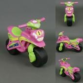 Байк Спорт Мотоцикл Фламинго Розово-салатовый 0138/30