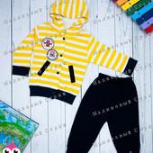 Спортивный костюм на мальчика 74 размер с капюшоном 9 месяцев производство Турция, отличное качество
