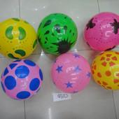 Мяч резиновый в ассортименте, 25см 60г. артикул C12760