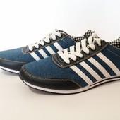Джинсовые кроссовки 43-46 размер