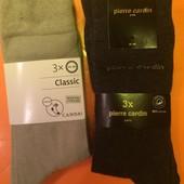Носки мужские высокие фирмы C&A, размер 43-46, 3 пары в упаковке