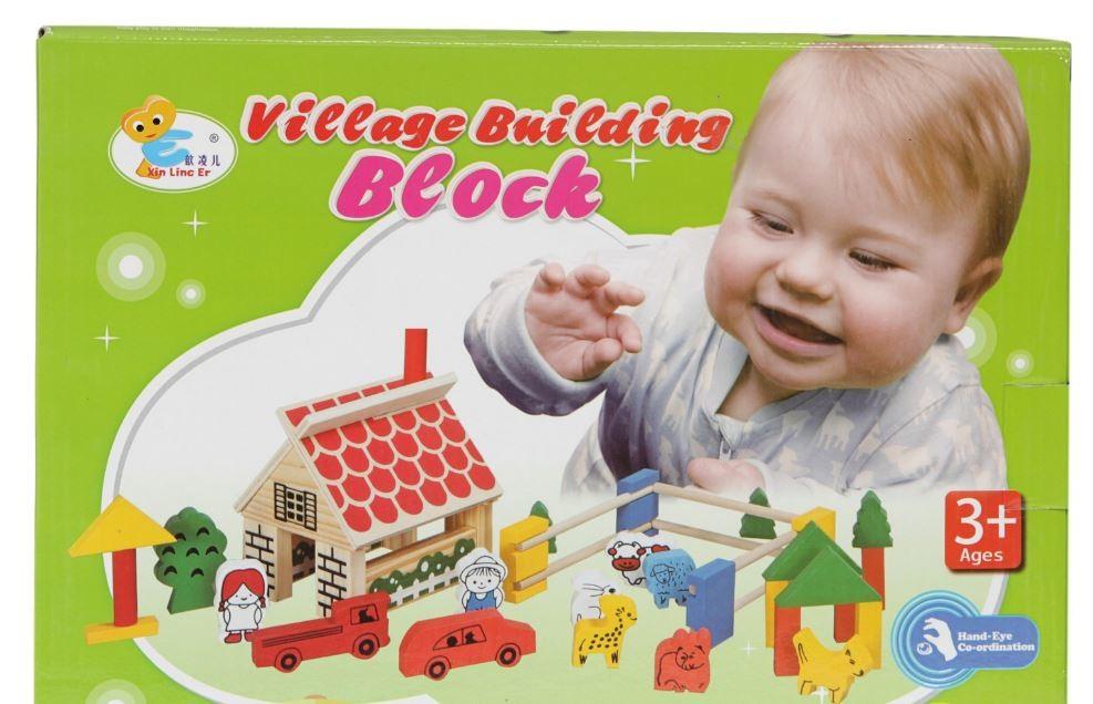 Игра деревянная конструктор-ферма от josef otten (германия) фото №1