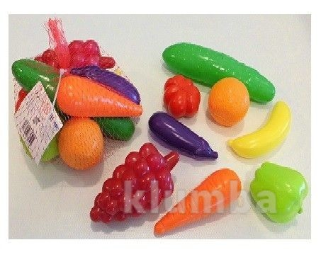 Набор продуктов фрукты - овощи 8 штук орион 362 фото №1