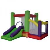 Самый качественный надувный игровой центр, для проката. 019A Надувний батут Soft Space