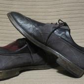 Чудесные комбинированные туфли ручной работы Bello heritage. Италия.