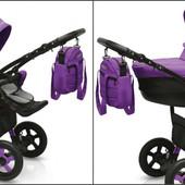 +видео! Универсальная коляска Camarelo Sevilla SE-13 Фиолетовый