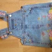 джинсовый сарафан 1 год