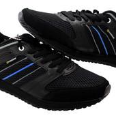 41 и 44 р Мужские кроссовки натуральная замша +PU-кожа (R-150)