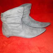Сапожки ботинки New Look 40рр