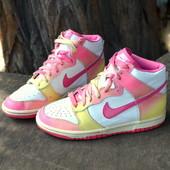 Сникерсы, хай-топы Nike оригинал (36,5 размер, 23,5 см)