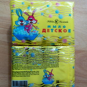 Мыло Детское, экопак, 4*100 грамм, Невская косметика.