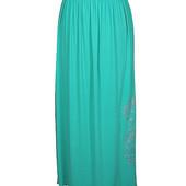Длинная юбка из поливискозы 46 64р.