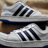 Кожаные кроссовки Adidas (оригинал)р.42