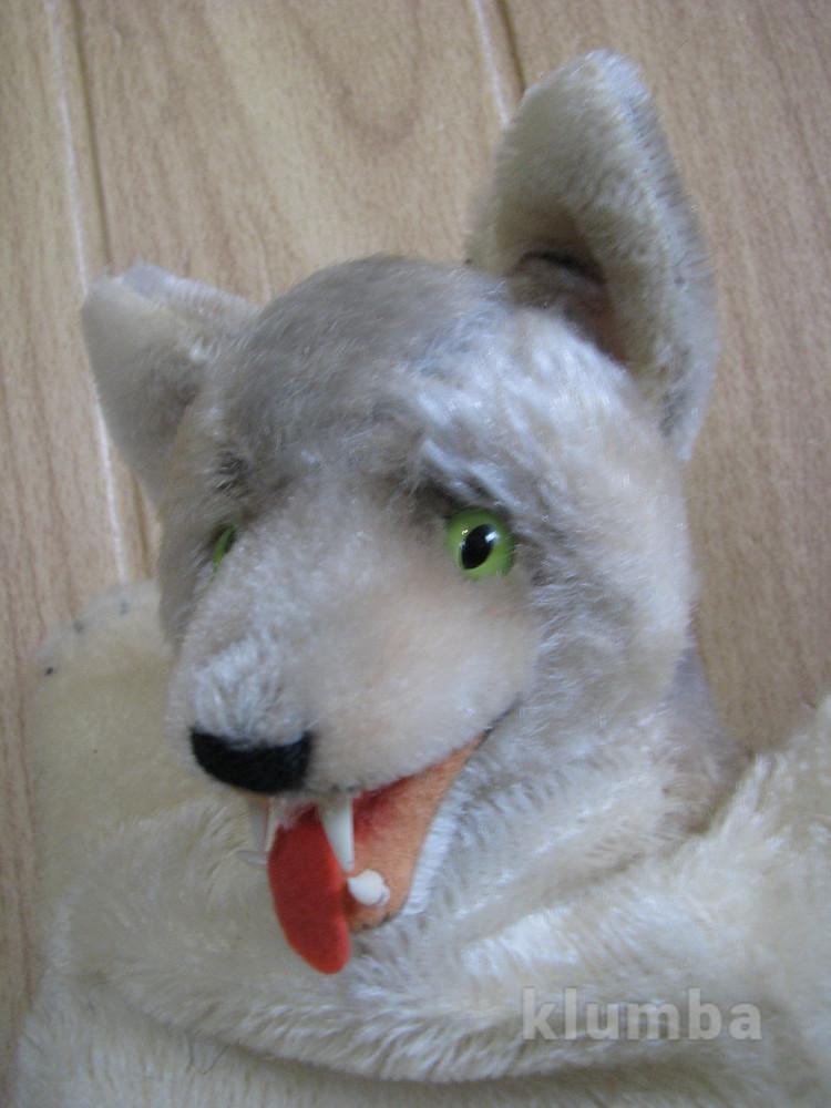 Волк wolf  steiff перчаточная 60-х фото №1
