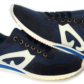 40 р Мужские легкие мягкие кроссовки (S-15)