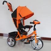 Детский трехколесный велосипед Camaro T - 345 колеса пена