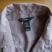Блуза в полоску с пуговицами H&M eur34