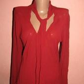 Красивая блуза р-р 12 сост новой мехх