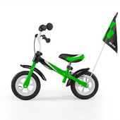 Беговел детский от 2х лет, M.Mally Dragon Deluxe (green) цвет зелёный