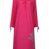 Платье- батал с рукавами Маринка