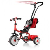 Доставка! Велосипед детский M.Mally Boby Deluxe 2015 с подножкой (red)