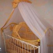 Кроватка детская,  Geoby Yellow
