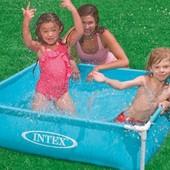 Каркасный детский бассейн Intex 57171 122-122-30 см.