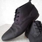 Кожаные ботинки р.44 River Island(оригинал)